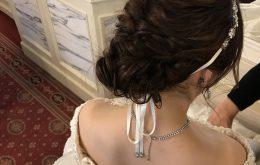 結婚式ヘアスタイル